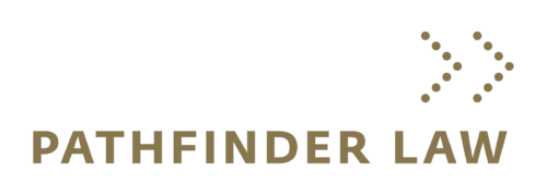 Pathfinder Law Logo Gold